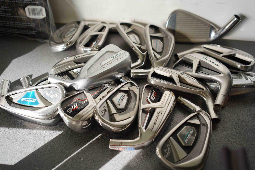Choix de têtes de golf
